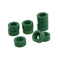 100 Pcs Inductor Coils Green Toroid Ferrite Cores 10mm x 6mm x 5mm BL