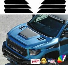 HOOD VENT DECALS INSERTS STICKERS for Ram, ford, Toyota, Nissan, Chevy TRUCKs
