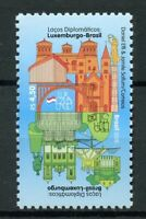 Brazil 2018 MNH Diplomatic Relations with Luxembourg 1v Set Architecture Stamps