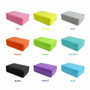 Yoga Fitness Block Props Foam Brick Stretching Aid Gym Pilates Exercise Sport