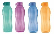 Tupperware x4 H20 On The Go Eco Sports Water Drink Bottles 750ml