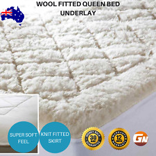 Jason 550gsm Australian Wool Reversible Underlay (queen)