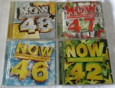 Now That's What I Call Music! - 4  VOLUMES - 42 , 46 , 47  & 48