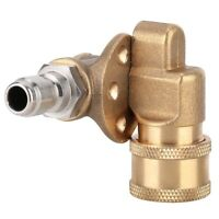 """5 Level Copper Adjustable 1/4"""" Quick Connect Coupler High Pressure Washer Nozzle"""