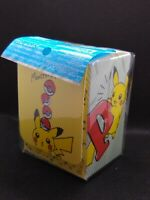 Pokemon center JAPAN - Pikachu drawing Card Deck case Box