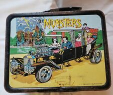 Vintage1965 The Munster'S Metal Lunch Box No Thermos