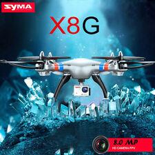 Syma X8G 2.4G 4CH 6Axis 8MP1080P HD Camera Headless Mode RC Drone Quadcopter