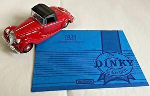 Matchbox Dinky Collection 1939 Triumph Dolomite