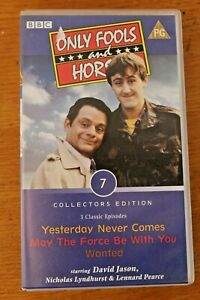 VHS Tape Only Fools & Horses 3 x Classic Episodes Collectors Edition 7 May Force
