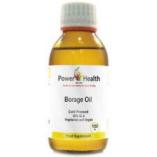 Power Health Cold Pressed Borage Oil (Starflower Oil) Food Supplement - 150ml