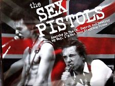 Sex Pistols Music CD Rock  Anarchy in UK, Search Destroy, My Way, Stepping Stone