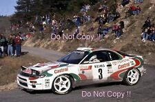 Didier Auriol Toyota Celica Turbo 4WD Winner Monte Carlo Rally 1993 Photograph 2