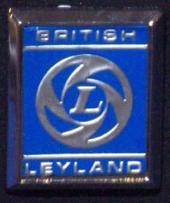 CLASSIC CAR BRITISH LEYLAND FRONT WING BADGE, BL HOUSE, PART NO 725525,