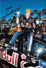 Jamie P.A.E. signé 12x8, Aussie V8 Supercar Champion 2014.