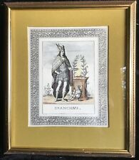 Mid-Century Windsor Art Products Hand Colored Branchus, Son of Apollo, Litho