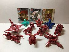 Bakugan Dragonoid Maxus Complete 7 in 1 Battle Brawlers + 3 Bakugan3 Metal Cards