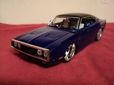Jada  1970 Dodge Charger R/T 1/24 scale used   2004 release  original casting