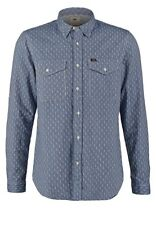 Lee® Jeans Army Shirt/Night Blue - XX Large SRP £60.00