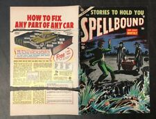 SPELLBOUND - FRONT & BACK COVER ONLY #21