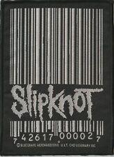 Slipknot Barcode official Original Patch Aufnäher aus den 90ern, Metal