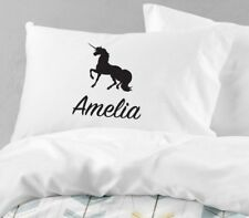 Personalised Unicorn Pillowcase Printed Gift Custom Made Print 101