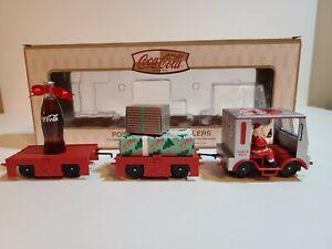 RARE Coca Cola K-Line North Pole Speeder Train w/2 Trailers K2628-11A