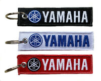 Yamaha Key Chain Motorcycle Instrument Bikers Scooter Embroidery Key Fob Locator