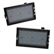 2xLED Rear Number plate light upgrade SMD licence lamp unit for Freelander 2 LR2