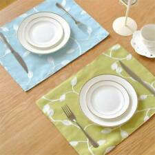 Tables Decorative Plastic Mat Pad Waterproof Coffee Dining Table Placemats DM
