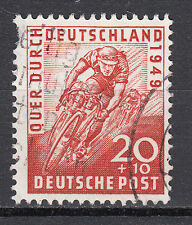 BIZONE  Mi. Nr. 107 gestempelt 2te wahl zahnfehler (14085)