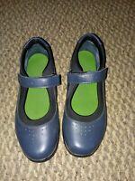 Drew Rose Mary Jane Orthopedic Diabetic Comfort Shoes Navy Leather Women 10 W
