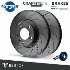 Fits Mercedez-Benz Sprinter Drilled & Grooved Brake Discs 303mm 20454-GL/T5