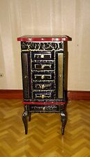 Dolls house hand decorated cabinet