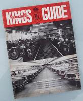 1960 MOTORCYCLE KINGS BROCHURE BOOK TRIUMPH BSA NORTON ARIEL MATCHLESS DUCATI +