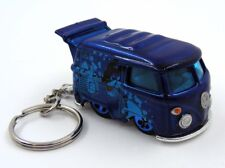 Custom Keychain VW Volkswagen Kool Kombi The Beatles Blue Meanie Key Ring Fob