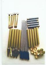 SLIMLINE GOLD PLATED PEN KITS X 5 FREE POSTAGE 1st CLASS