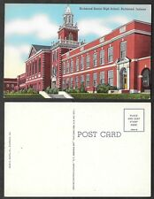 Old Indiana Postcard - Richmond - Senior High School