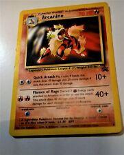 Arcanine #6 Black Star Promo Rare Vintage NM NP Pokémon TC