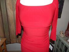 NEW Norma Kamali Off Shoulder Shirred Dress  Size M