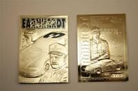 DALE EARNHARDT 2001 23KT Gold Card Sculptured GM GOODWRENCH #3 Serial #'d NM-MT