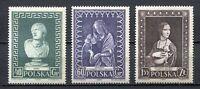 35626) Poland 1956 MNH Intl. Museum Week (Unesco) 3v