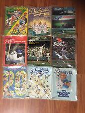 LA Dodgers Yearbook 1970's Lot