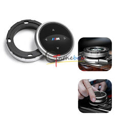 Multi-Media Control Knob Cover Trim For BMW M1 2 4 6 7 3 GT5 X1 X3 X4 X5 IDRIVE