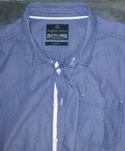 Angelo Litrico Slim Fit Button Up Long Sleeve Shirt Men's XXL NWOT Free Shipping