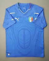 4/5 Italy Italia soccer jersey MEDIUM 2010 2011 home shirt football Puma