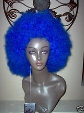 Afro Blue Medium/Large Wig By Magic Touch. 100% Kanekalon fiber.