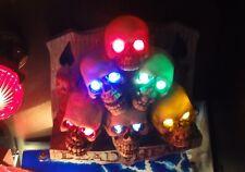 Scared Stiff Pinball Skull Pile LED light kit mod