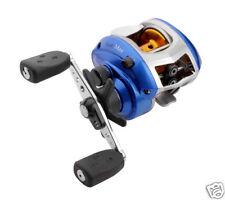 ABU BLUE MAX RIGHT HAND WIND BAITCASTING FISHING REEL