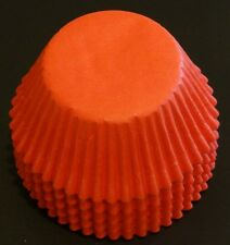50 Orange Cupcake Liners Baking Cups STANDARD SIZE BC-34-50 NEW