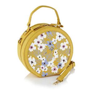 Ruby Shoo Alberta Ochre Floral Bag (Matches Valerie T-Bars)
